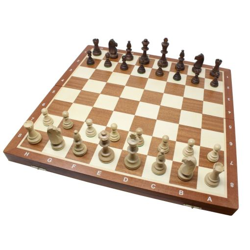 Wegiel 木製チェスセット トーナメントNo.6 52cm 1