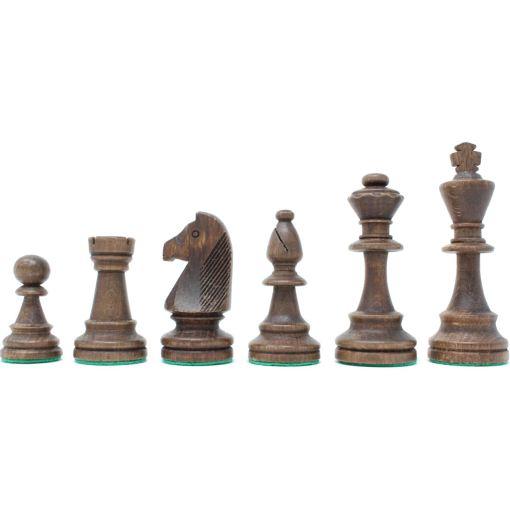 Wegiel チェス駒 トーナメント No.6 収納木箱付き 3