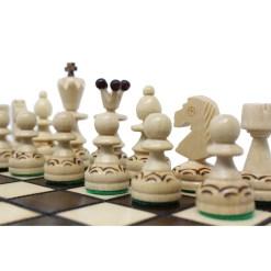 木製チェスセット パール 30cm 15
