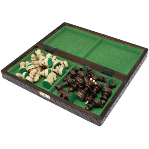 木製チェスセット パール 30cm 21