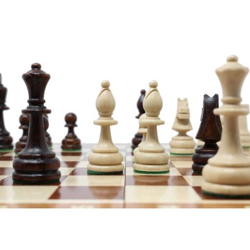 木製チェスセット トーナメントNo.4 18