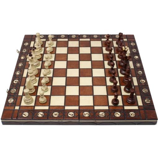 木製チェスセット ヴァヴェル 41cm 12