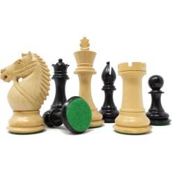 チェスジャパン チェス駒 オーソリティ エボナイズ 1