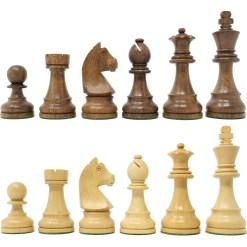 チェスジャパン チェス駒 スタンダード・スタントン 95mm 日本チェス連盟公式用具 2