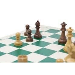 チェスジャパン チェス駒 スタンダード・スタントン 95mm 日本チェス連盟公式用具 15