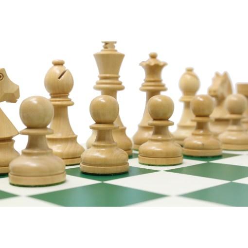 チェスジャパン チェス駒 スタンダード・スタントン 95mm 日本チェス連盟公式用具 25