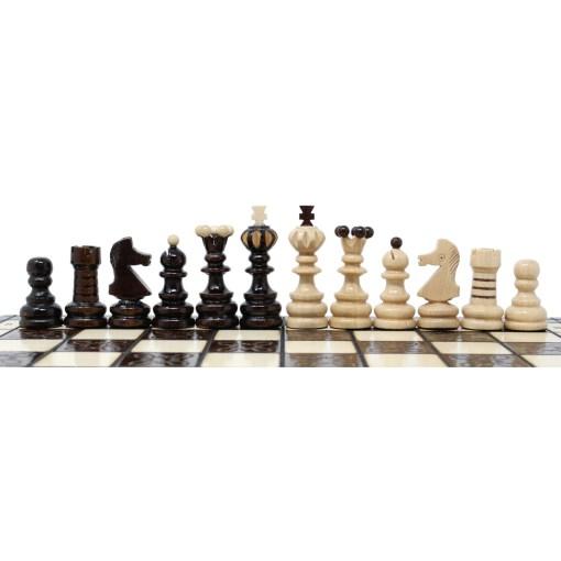 木製チェスセット クラクフ 42cm 7