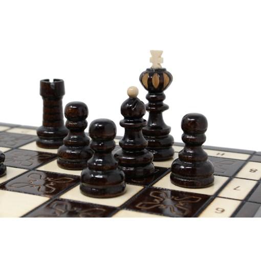木製チェスセット クラクフ 42cm 19