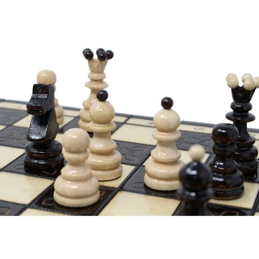木製チェスセット クラクフ 42cm 20