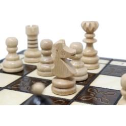 木製チェスセット クラクフ 42cm 21