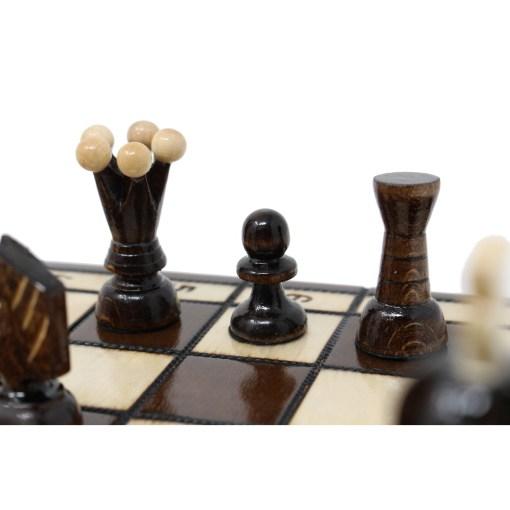 木製チェスセット ロード 31cm 18
