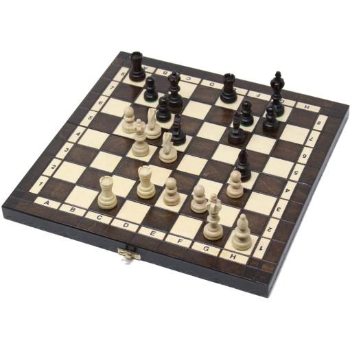 木製チェスセット オリンピアード 35cm クラシックB 13