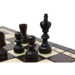 木製チェスセット オリンピアード 35cm クラシックB 15