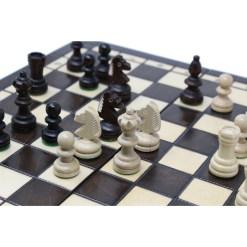 木製チェスセット オリンピアード 35cm クラシックB 17