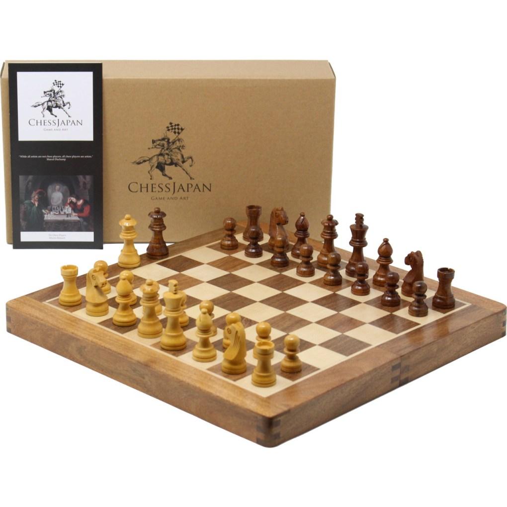 木製チェスセット オリジン 31cm 磁石式 1