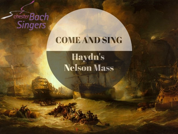 Come and Sing Hadyn Nelson Mass advert
