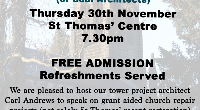 A Talk by Carl Andrews – Grant Aided Church Repair Projects