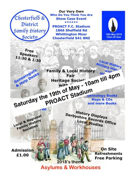 Local History Society Fair Proact Stadium 2018