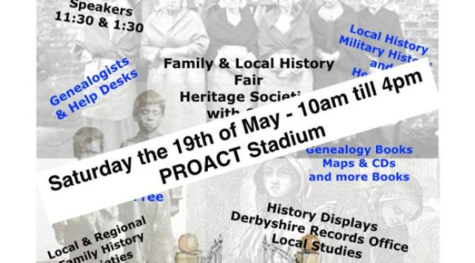 Family & Local History Society Fair Proact Stadium