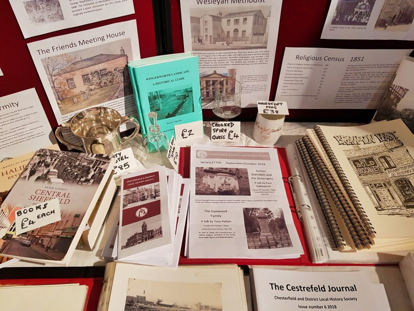 Chesterfield District Local History Society Stall Museum