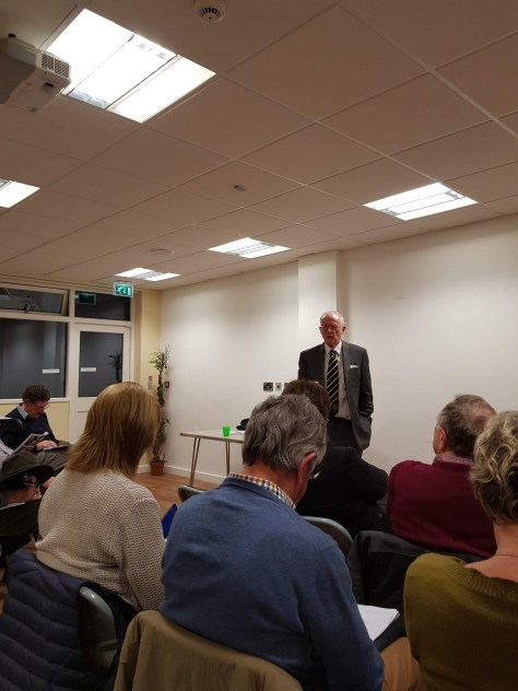 Civic Society HS2 Philip Riden