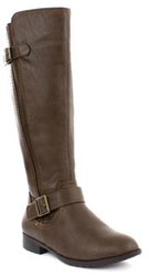 Lilley Womens Brown Knee High Boots