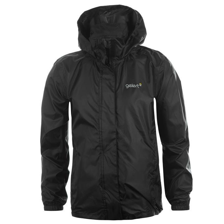 Gelert Packaway Junior Waterproof Jacket