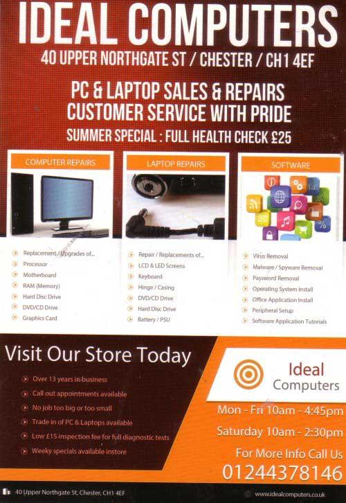 Business Computer Repair Flyer