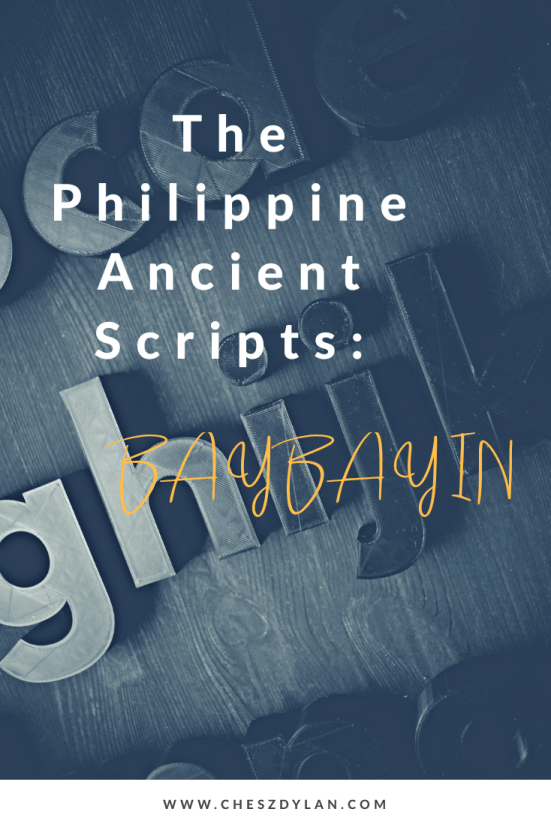 The Philippine Ancient Scripts Baybayin