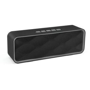bluetooth5.0 2.1 Channel Speakers FM Radio TF Card U-disk AUX Play Speaker Music Player