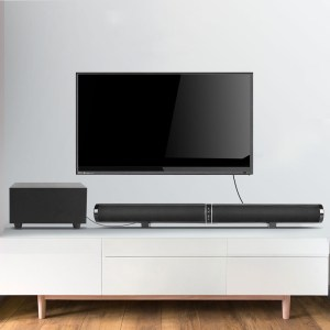 Bakeey bluetooth Speaker Home Theater Soundbar TV Audio 2.1 Wall Bar Speaker Subwoofer