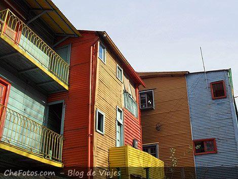 Fotos de casas de Caminito - La Boca