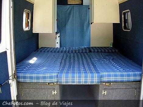 Transformado el living en una King Size Bed