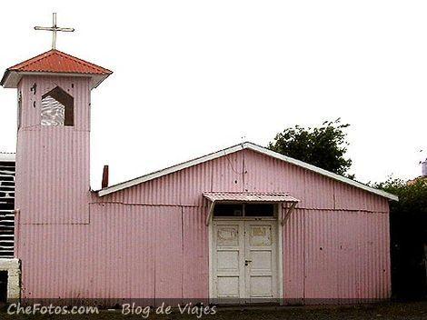 Iglesia de chapa en Río Gallegos