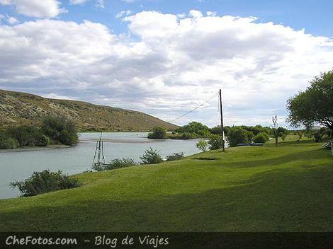 Oasis en la Patagonia, Río Santa Cruz