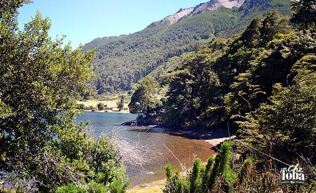 Bahía lago Huechulafquen