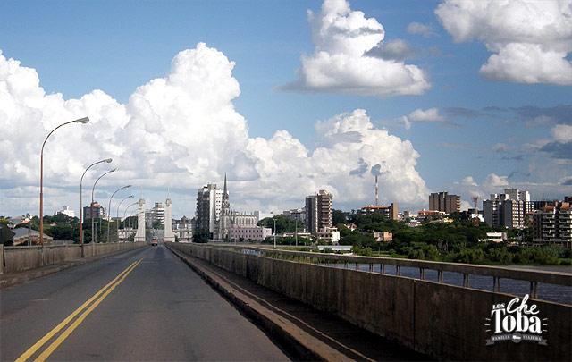 A Brasil por cruce Paso de los Libres - Uruguayana