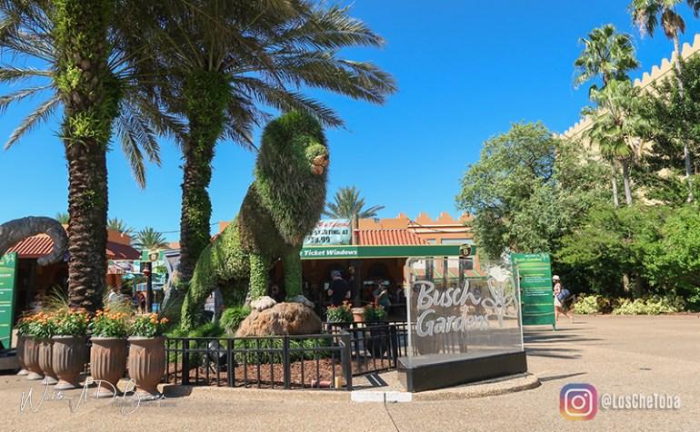 Planificar el recorrido de Busch Gardens