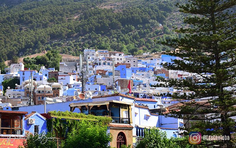 Dónde queda la ciudad Azul de Marruecos
