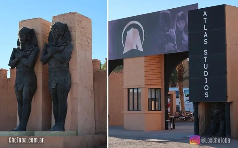 Estudio de cine Atlas Ouarzazate Marruecos
