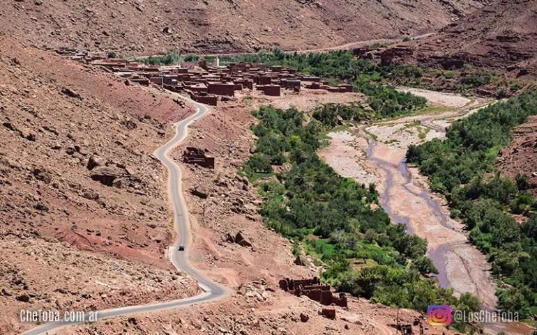 Pueblos en la ruta a Ouarzazate