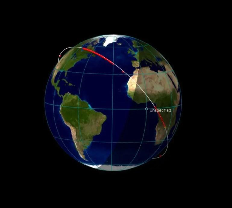 Satlink tren de satelites