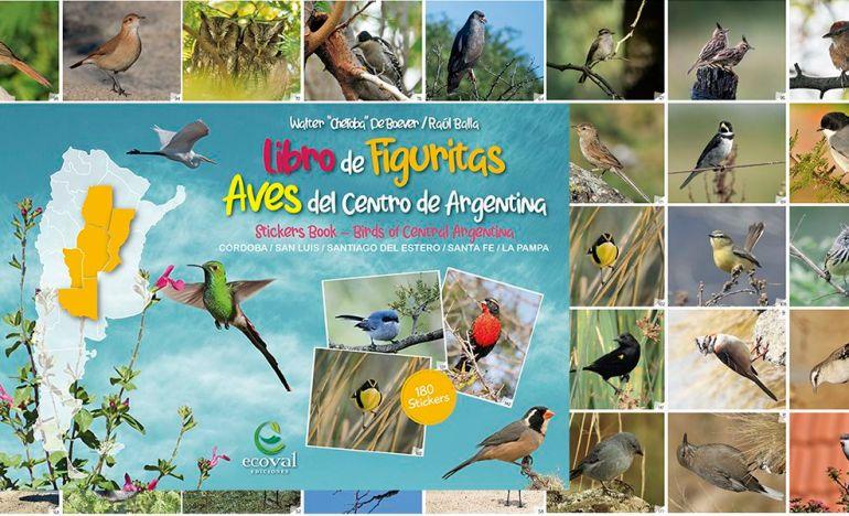 Libros de Figuritas de Aves Ecoval