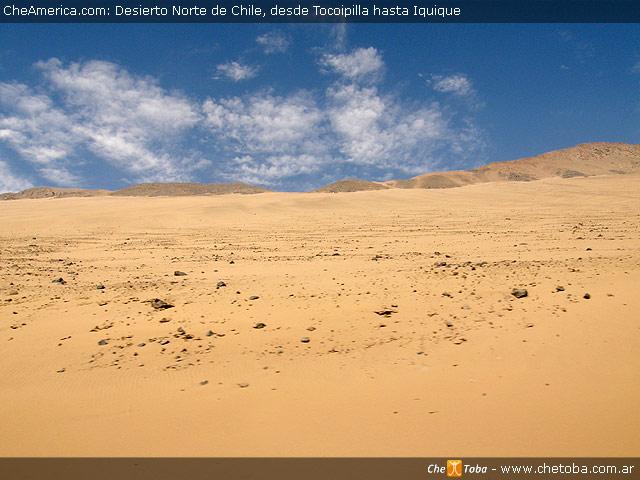Desierto al costado de la ruta
