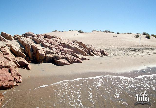 Dunas playa Piedras Coloradas