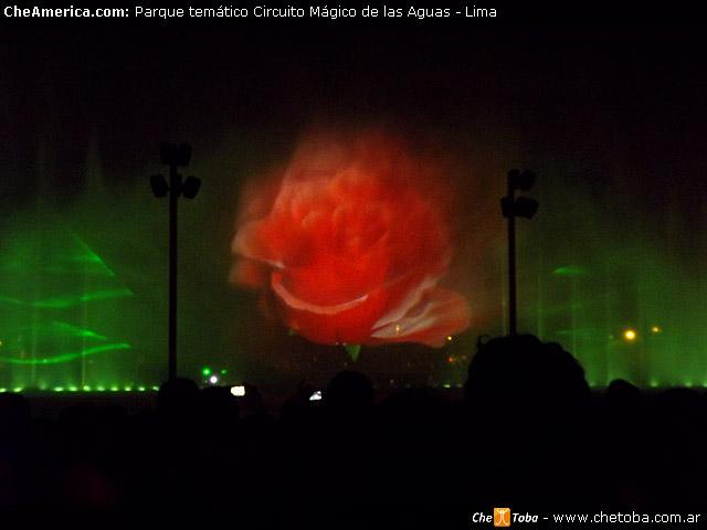 Hologramas Parque del Agua en Lima