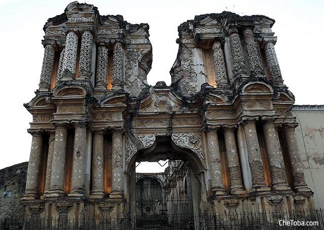 Iglesia en Ruinas Antigua