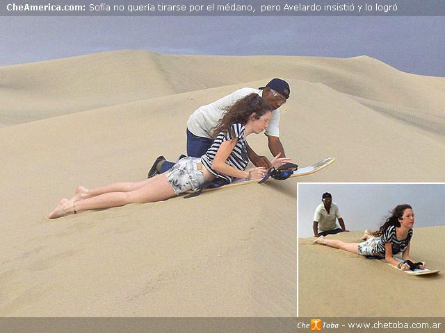 Huacachina Sandboard y Trineos. Para expertos?