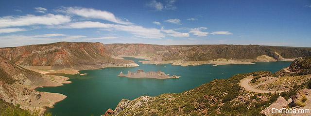 Foto Panorámica del Cañón del Atuel