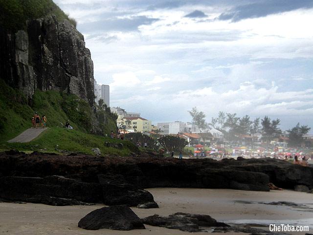Acantilados Playa Torres SC Brasil